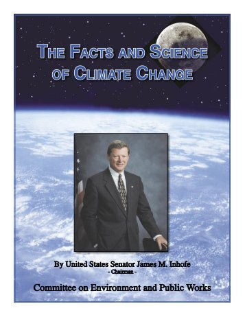 The Facts and Science of Climate Change - U.S. Senate ...