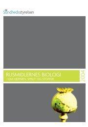 RUSMIDLERNES BIOLOGI - Sundhedsstyrelsen