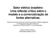 Roberto Araujo - PPE - Programa de Planejamento Energético