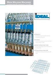 Mesh Welding Machines - IDEAL-Werk C. + E. Jungeblodt GmbH + ...