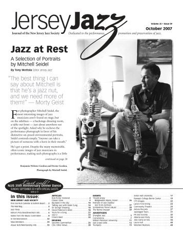 Last call! - New Jersey Jazz Society
