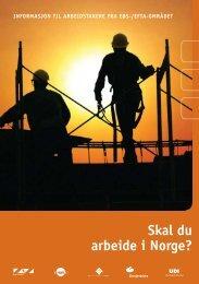 Info til arbeidstakarar frå EØS- eller EFTA området - Sande Kommune