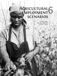 Agricultural employment scenarios - PLAAS