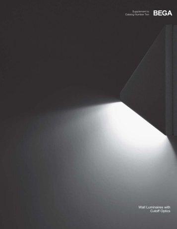 Wall Luminaires with Cutoff Optics - Bega
