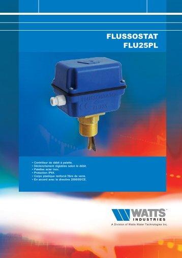FLUSSOSTAT FLU25 - Watts Industries