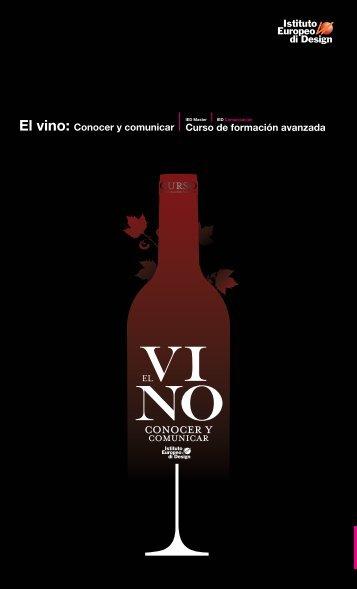 El vino: Conocer y comunicar - IED Madrid