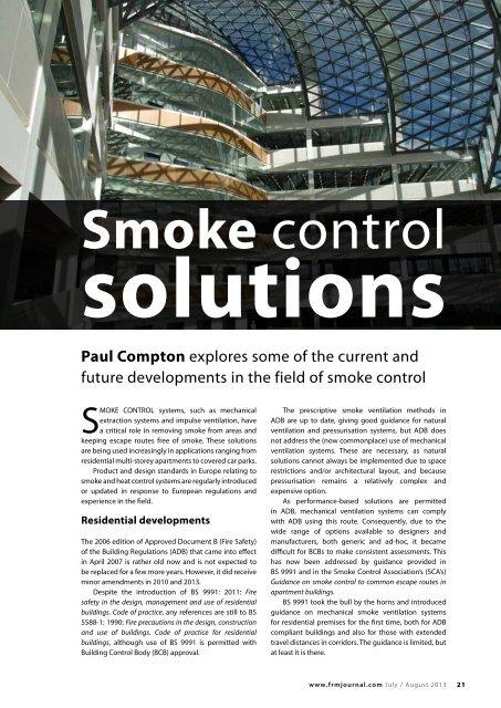 Smoke Control Colt International
