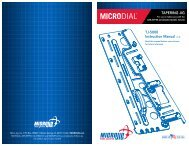 MicroDial Tapering Jig Manual - Highland Woodworking