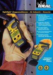 TightSight® Zangenmultimeter - für Industrie + Gewerbe