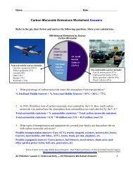 Carbon Monoxide Emissions Worksheet Answers - Teach Engineering