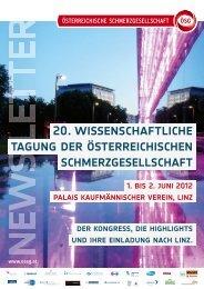 20. wissenschaftliche tagung der österreichischen ...