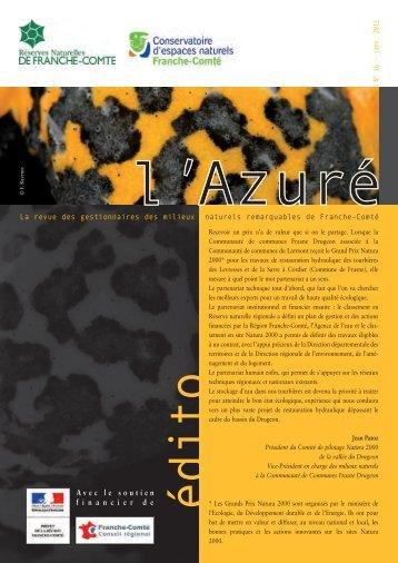 L'Azuré N°16 - Conservatoire d'Espaces Naturels de Franche-Comte