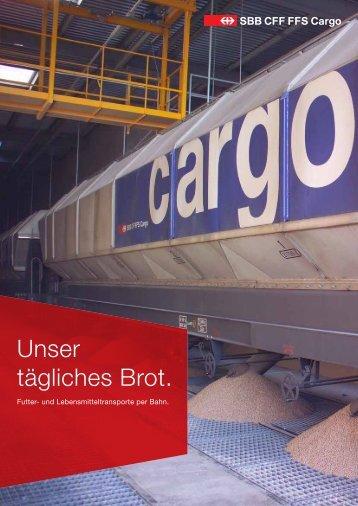 Futter- und Lebensmitteltransporte 163 kB - SBB Cargo