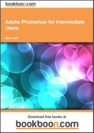 Adobe Photoshop for Intermediate Users Language ... - Tutorsindia