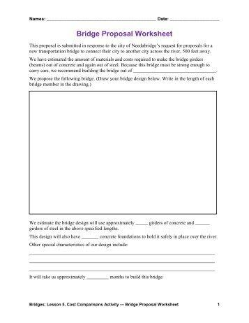 bridge types forces worksheet answers pdf teach engineering. Black Bedroom Furniture Sets. Home Design Ideas
