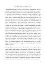 Der Weg des Kreuzes – Philipper 1,27-29 - EMK Winterthur