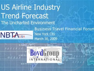 US Airline Industry Trend Forecast - Global Business Travel ...