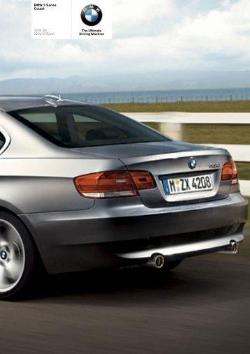 The BMW 3 Series 320d Coupé - Vines