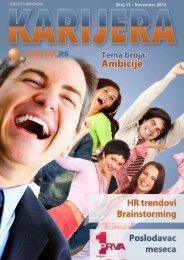 Broj 12 - Novembar 2010. - Poslovi.rs