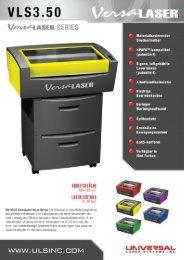 Prospekt VLS 3.50 - F. Huhn & Sohn GmbH