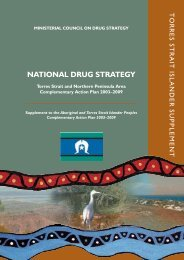 Torres Strait Islander Supplement - National Drug Strategy ...