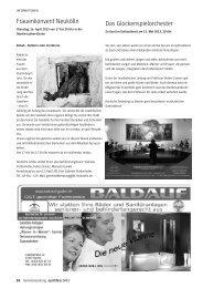 GEMEINDEzeitung der Martin-Luther-Gemeinde, April/Mai 2013 Teil 2