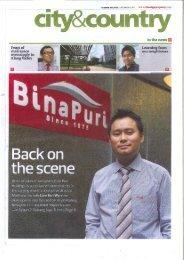 in the news B - Bina Puri