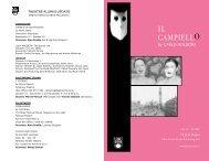 IL CAMPIELLO - Theatre at UBC