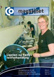 Ligeløn og fælles lønforhandling - CO-industri