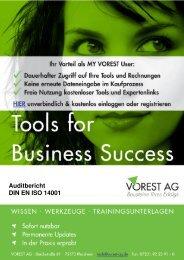 Auditbericht DIN EN ISO 14001 - Vorest AG