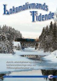 Lokomotivmands Tidende Nr.3-2013. 106.Ã¥rgang - Norsk ...