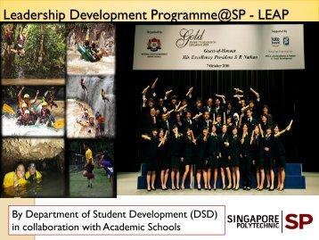 Leadership Development Programme@SP - LEAP