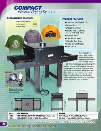 COMPACT - Workhorse Products