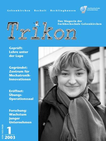 Ausgabe 1/2003 - TRIKON