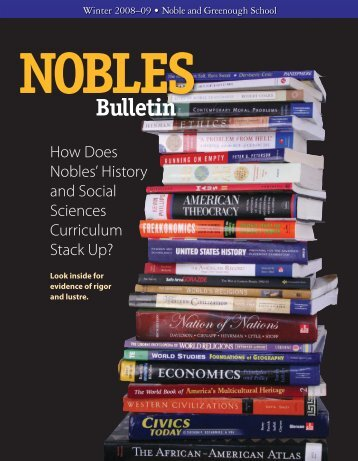 To download a PDF of the 2008-2009 Fall/Winter Bulletin, click here.