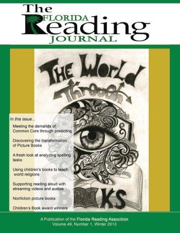 Winter 2013 - Florida Reading Association