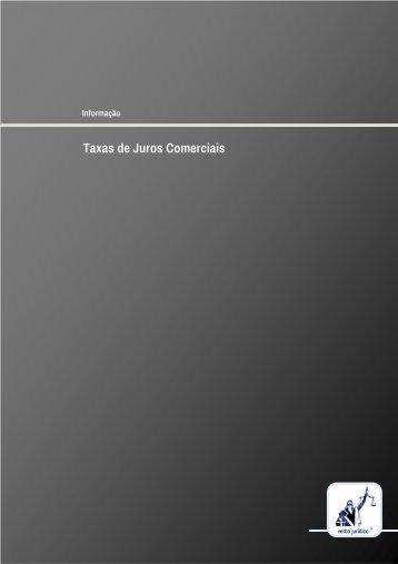 Taxas de Juros Comerciais