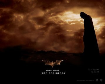Batman Begins visual text
