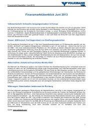 BESUCHSBERICHT - Volksbank Wien AG