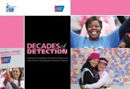 Decades of Detection Report - American Cancer Society Cancer ...