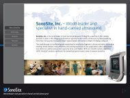 World leader and specialist in hand-carried ... - Strumedical.com