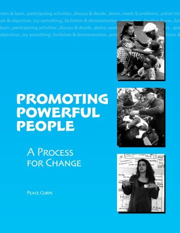 Promoting Powerful People - Peace Corps Online