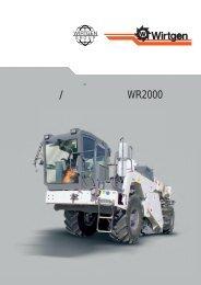 WR 2000 catalog 日本語