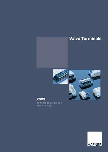 Catalogue Valve Terminals - Hafner Pneumatik