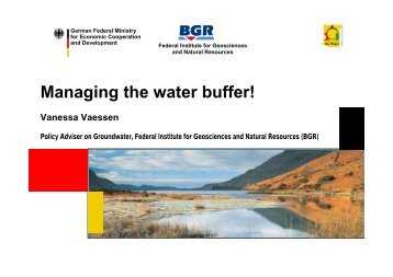 Managing the water buffer! - INBO