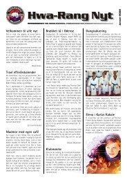 Jan. - Ballerup Taekwondo Klub