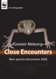Greater Mekong Close Encounters - World Wildlife Fund