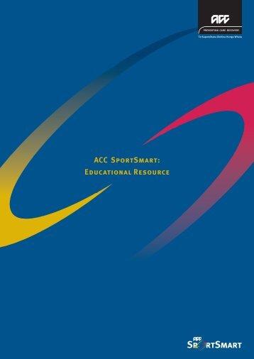 ACC SportSmart: Educational Resource