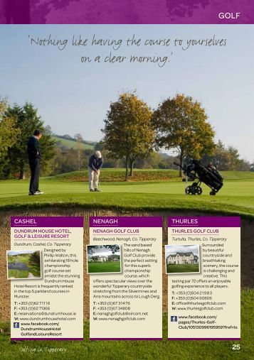 Golf - Tipperary