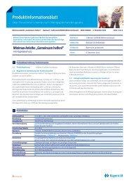 Produktinformationsblatt - und Stadtsparkasse Erding - Dorfen